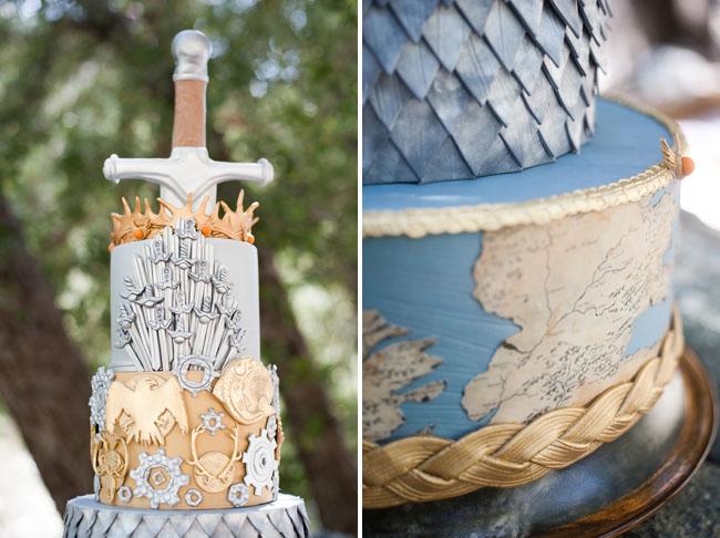 Inspirace na svatbu v style Game of Thrones - Obrázek č. 49