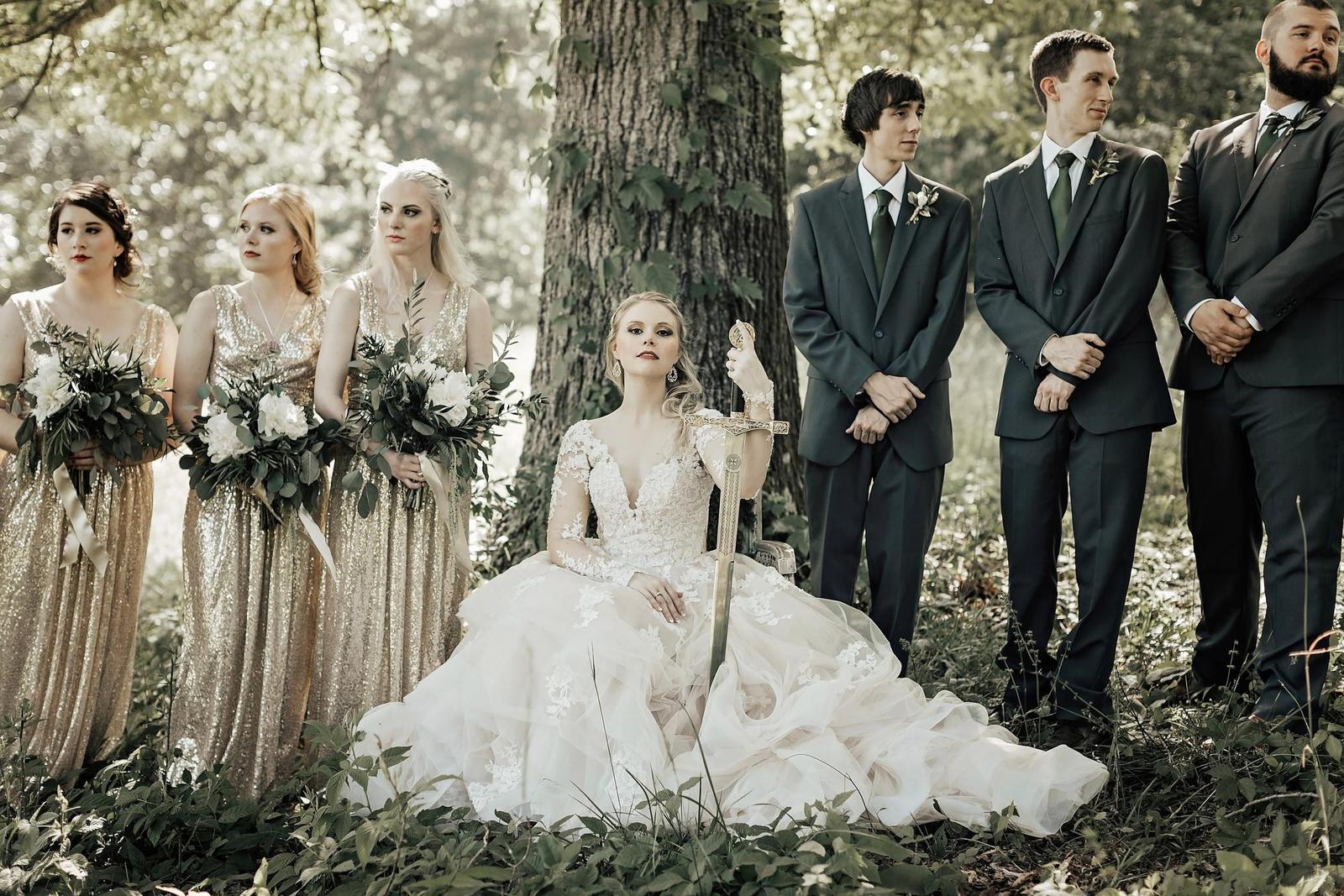 Inspirace na svatbu v style Game of Thrones - Obrázek č. 82