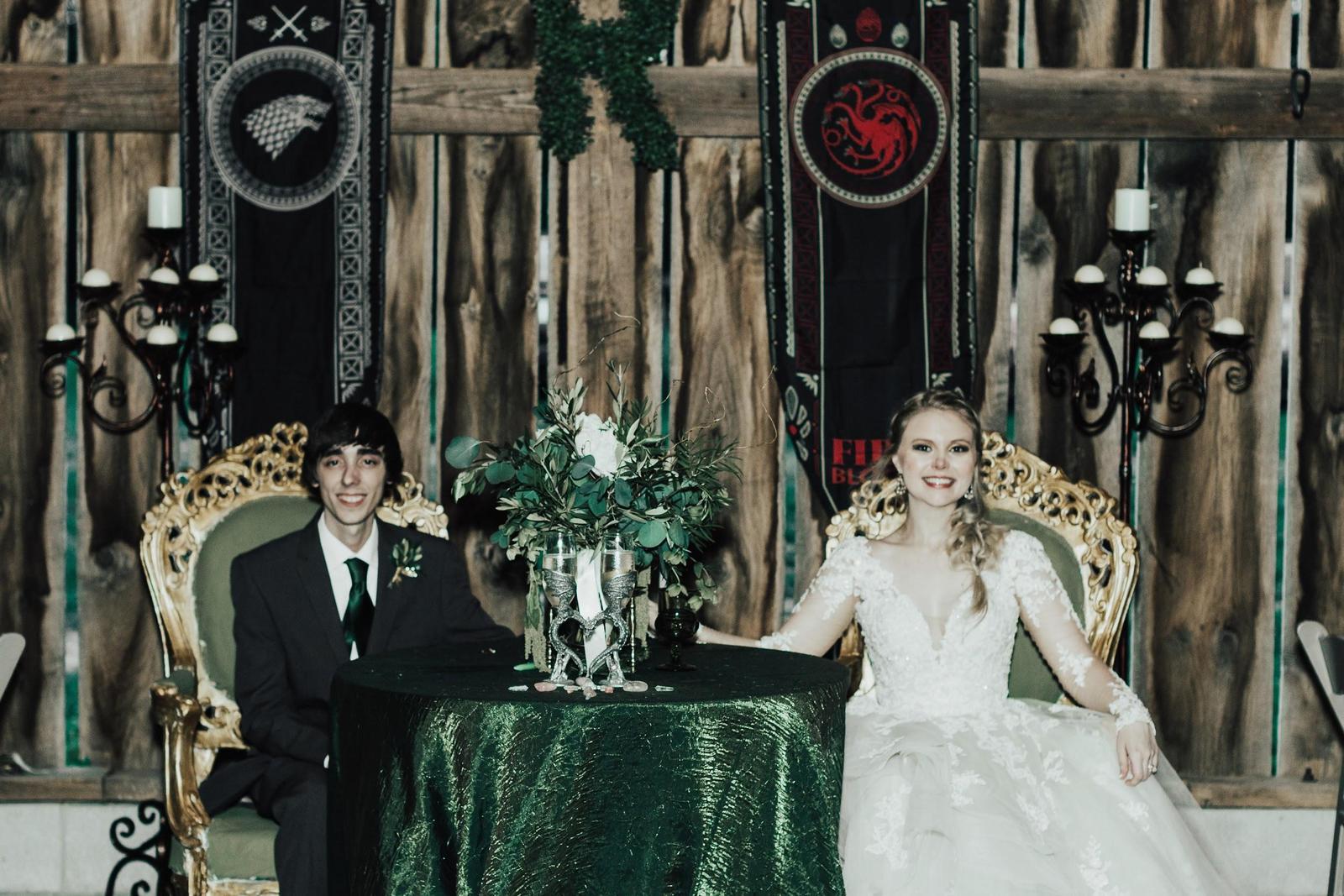 Inspirace na svatbu v style Game of Thrones - Obrázek č. 83