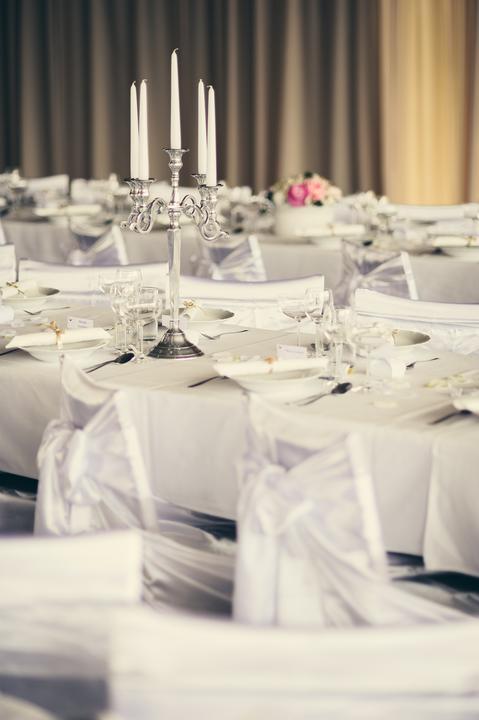 Výzdoba svatebních stolů nevěst z Bereme se - Obrázek č. 149