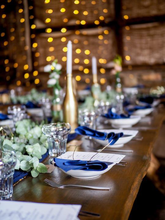 Výzdoba svatebních stolů nevěst z Bereme se - Obrázek č. 226