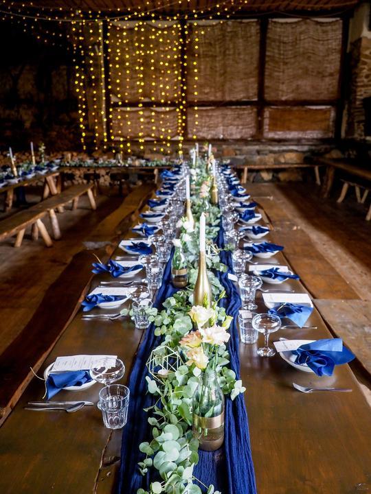 Výzdoba svatebních stolů nevěst z Bereme se - Obrázek č. 227