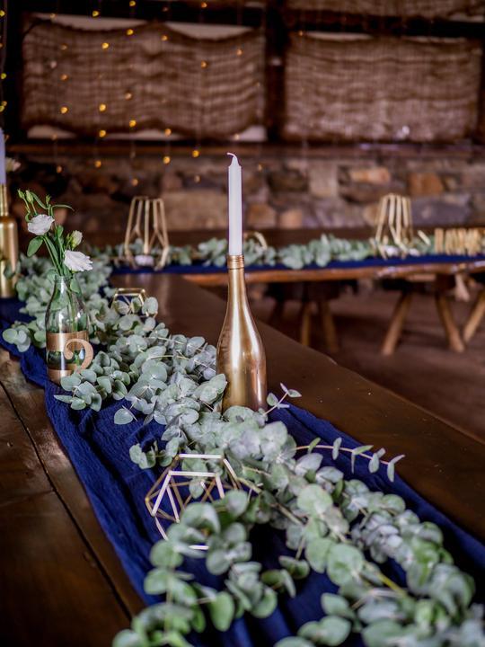 Výzdoba svatebních stolů nevěst z Bereme se - Obrázek č. 228
