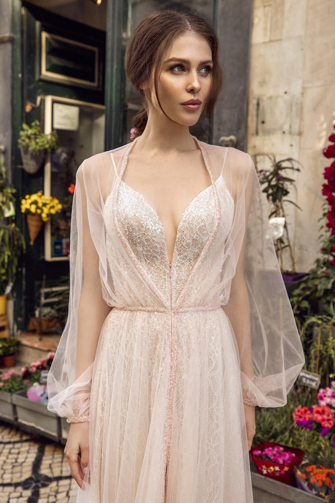 Svatební šaty Innocentia inspirované Lisabonem - Obrázek č. 5