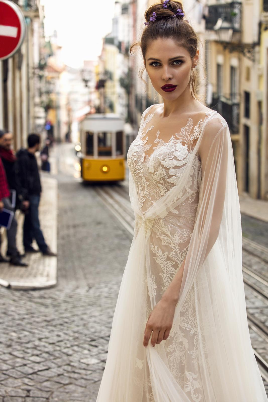Svatební šaty Innocentia inspirované Lisabonem - Obrázek č. 9