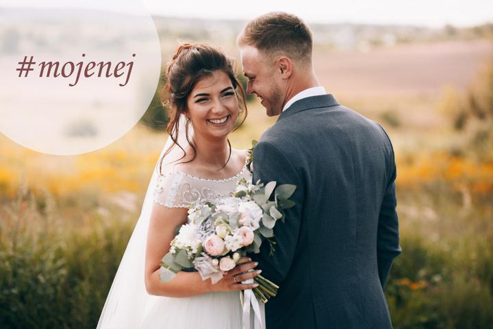 Milé nevesty 2019, nezabúdajte, že ešte stále beží výzva #mojenej o najobľúbenejšej fotke z vášho svadobného dňa! Pripravujeme do nášho magazínu článok s najkrajšími svadobnými fotkami neviest roku 2019. Ak chcete byť toho súčasťou, čaká vás neľahká úloha. Vyberte jednu svadobnú fotku, ktorá je pre vás tá naj a zverejnite ju vo svojom fotoblogu spolu s označením #mojenej a môžete k nej pridať aj pár slov o tom, prečo je to práve táto fotka. Vytvorme krásnu zbierku toho najlepšieho, čo sa medzi nami tento rok udialo! Je mi jasné, že do konca roka sa ešte nejaké svadby udejú. Aby tieto nevesty neboli o nič ukrátené, výzva potrvá až do konca roka. Teším sa na všetky fotky :) - Obrázek č. 1