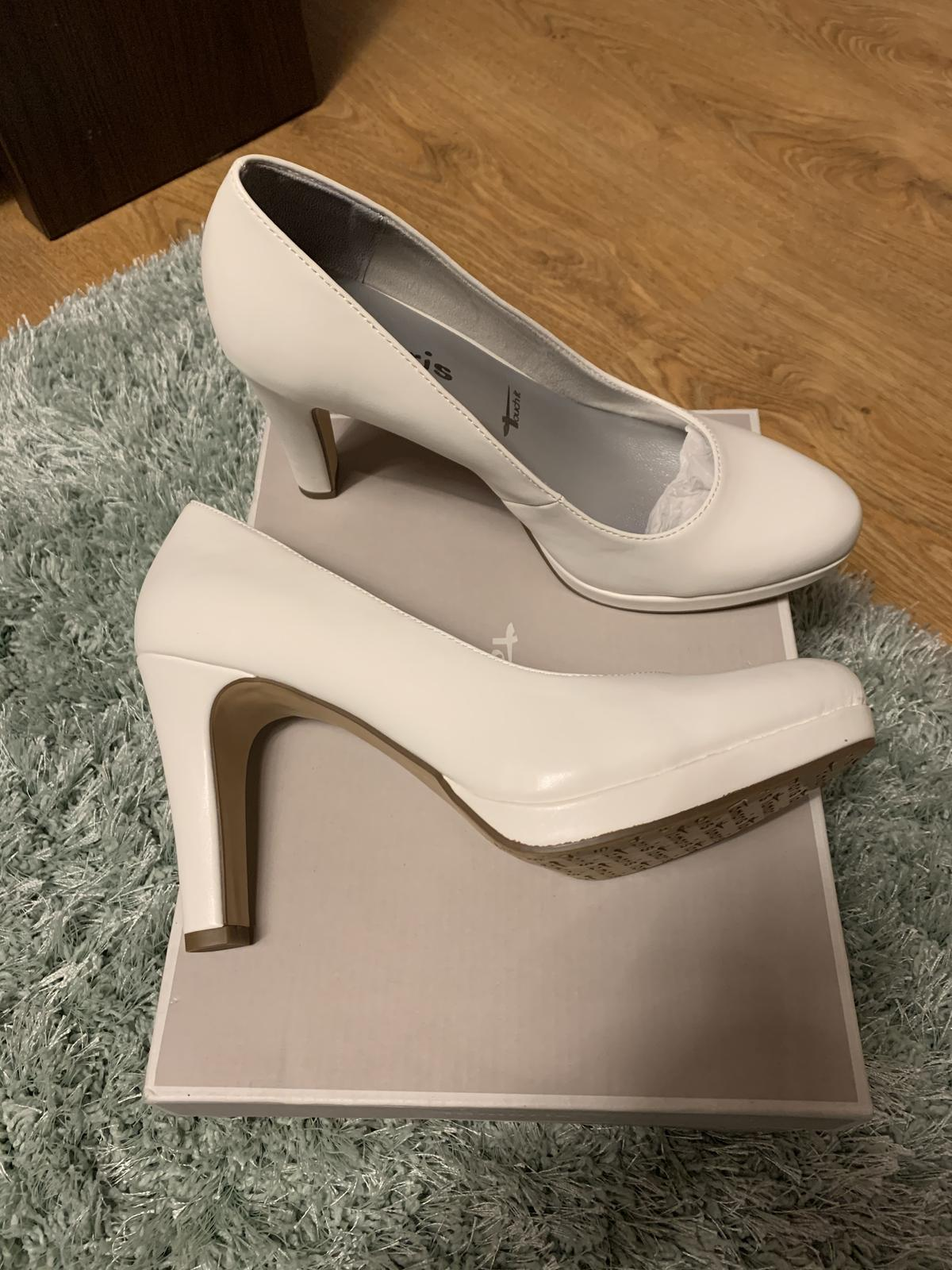 Svadobné topánky Tamaris - Obrázok č. 2