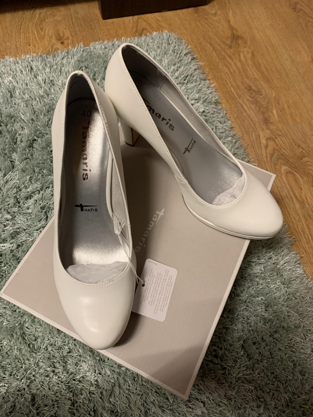 Svadobné topánky Tamaris - Obrázok č. 3