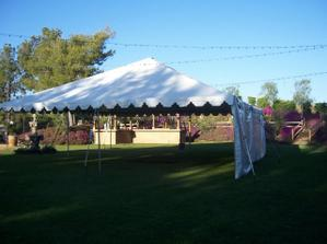 stan pripraveny na hostinu