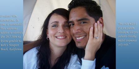 Nase oznameni o zasnoubeni
