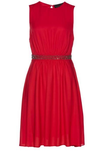Červené šaty NOVÉ - Obrázek č. 1