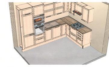 prvy navrh... to som este nevedela kde zmestim potravinovu skrinu...