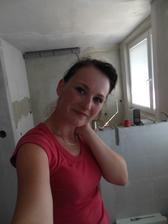 Já ve své budoucí kuchyni-už aby tam byla :)