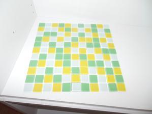 Mozaika do kuchyně :)