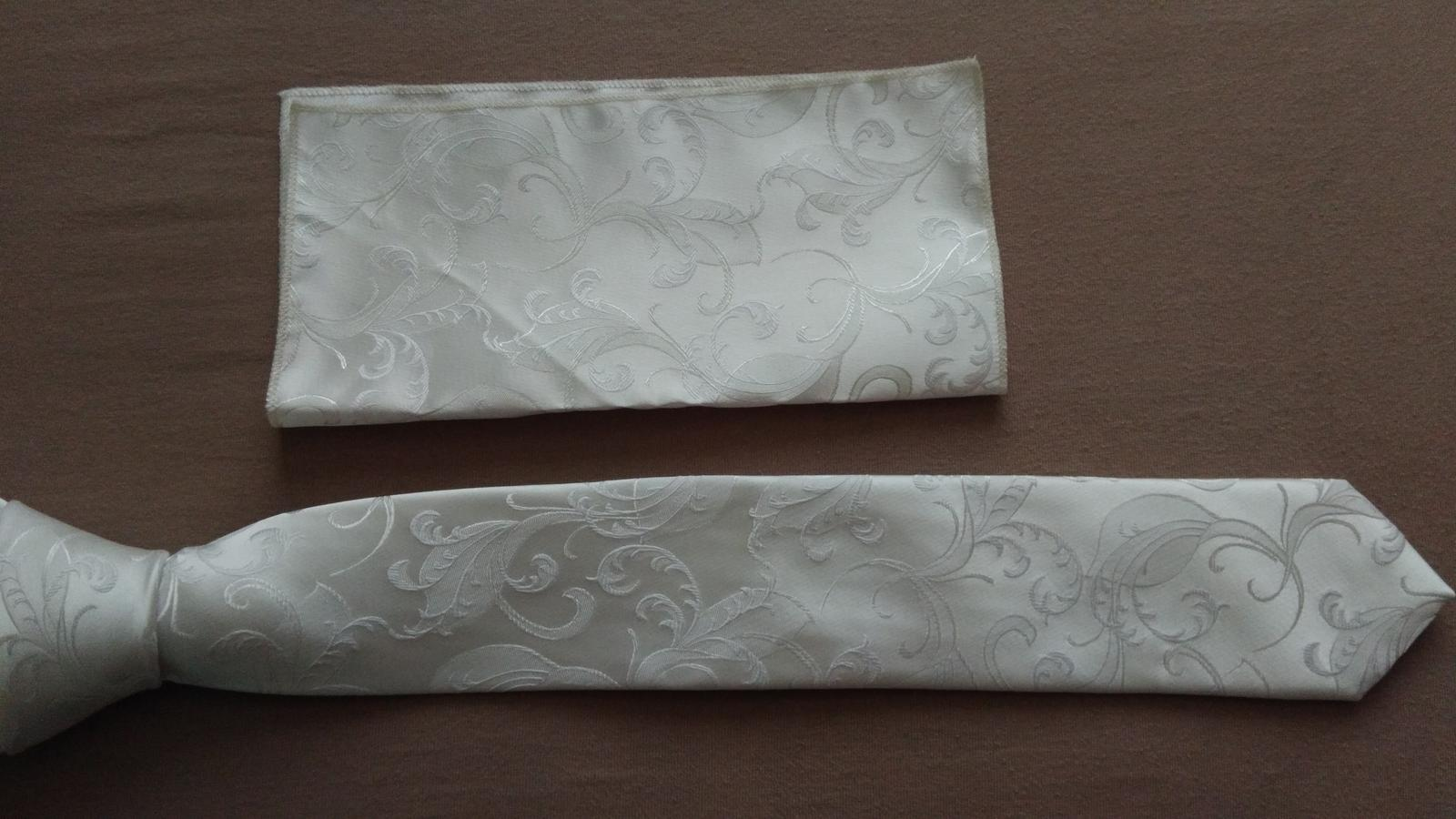 Kravata + vreckovka - Obrázok č. 1