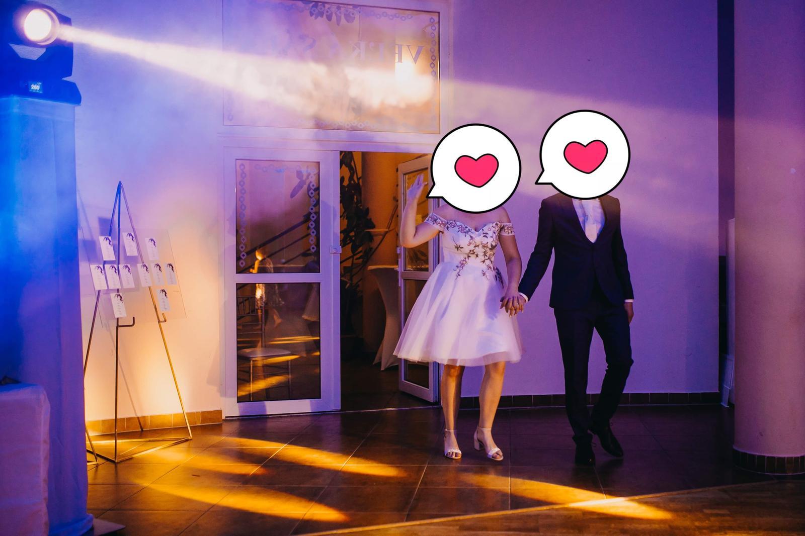 šaty popolnočné/svadobné - Obrázok č. 2
