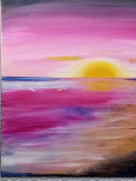 Obraz - Ružový západ slnka - Obrázok č. 1