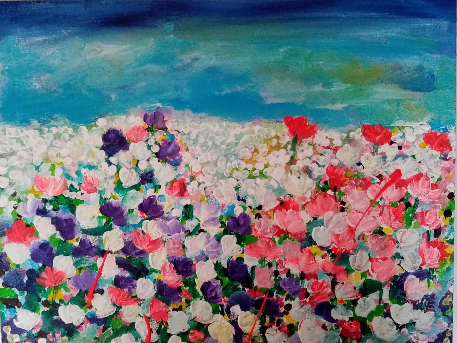 Lúka plná kvetov - Obrázok č. 1