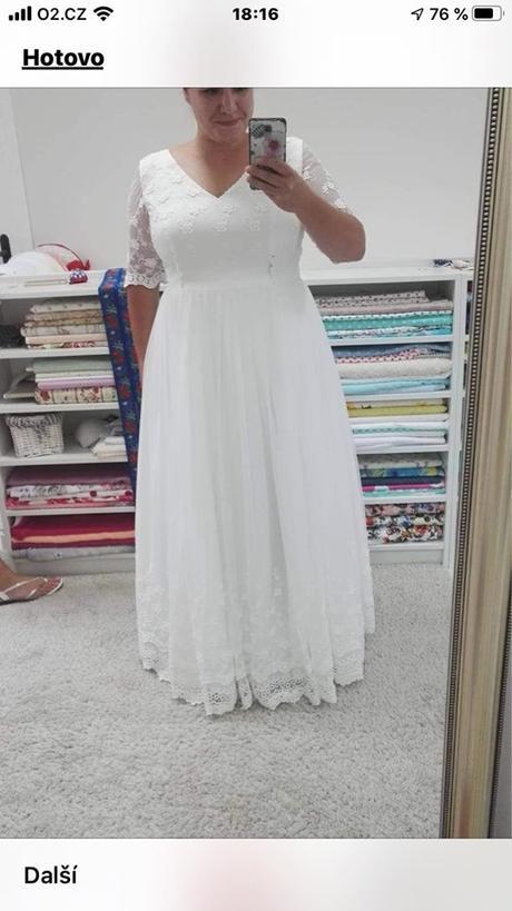 svatební šaty, - Obrázek č. 1