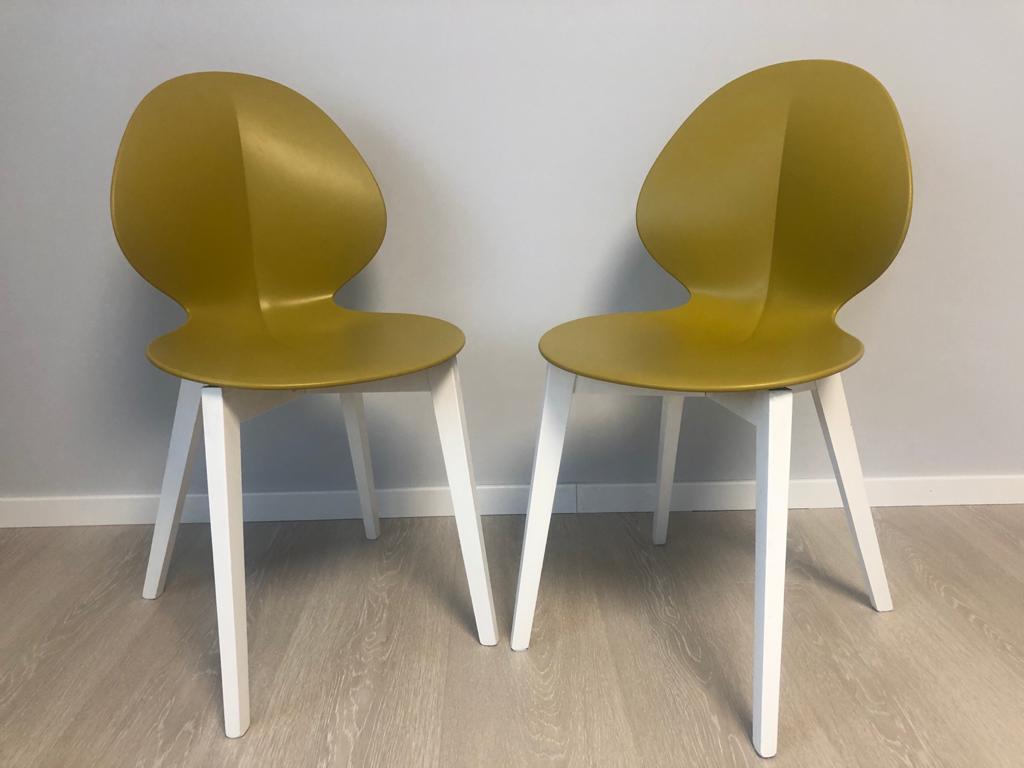 jedálenské stoličky CALLIGARIS 6ks - TOP stav - cena za ks - Obrázok č. 1