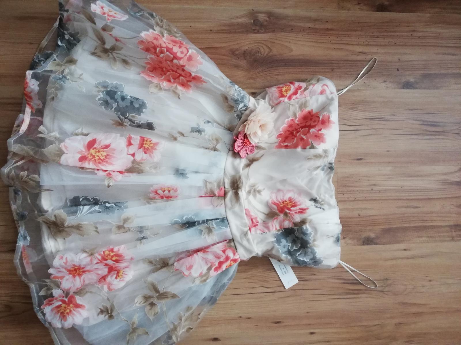 Společenské letní šaty - Obrázek č. 2
