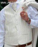 Svadobnu vestu s kravatou, 56