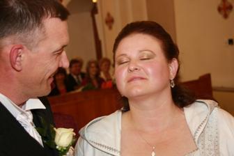po prvej manzelskej pusinke v kostole