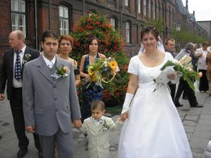 už po svatbě s našim synem Eričkem