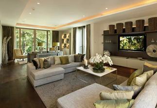 osvetlenie v obývačke