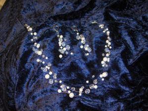 šperky mi vyrobila kámoška podle mého přání, díky AKym ;-)