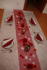 zkouška výzdoby svatební tabule ;-)
