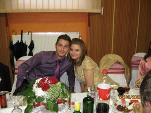 ...moj bratček so sesternicou:))