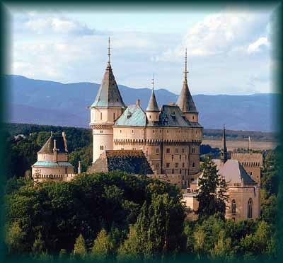...na Bojnickom zámku...