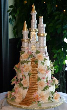 Kamilka a Matko - Pekna castle torticka