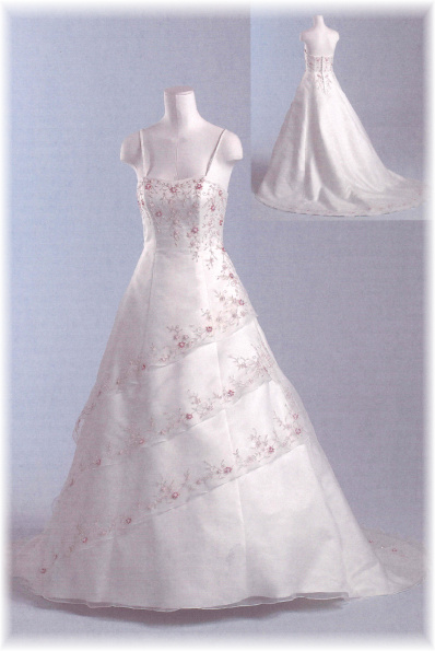 Svatební šaty - růžové i červené až do bordó - Obrázek č. 510