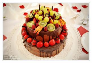 Dort bláznů do čokolády a ovoce :-)