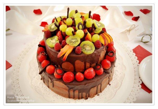 Markéta{{_AND_}}Milan - Dort bláznů do čokolády a ovoce :-)