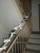 Doma vyzdobíme aj zábradlie na schodíkoch