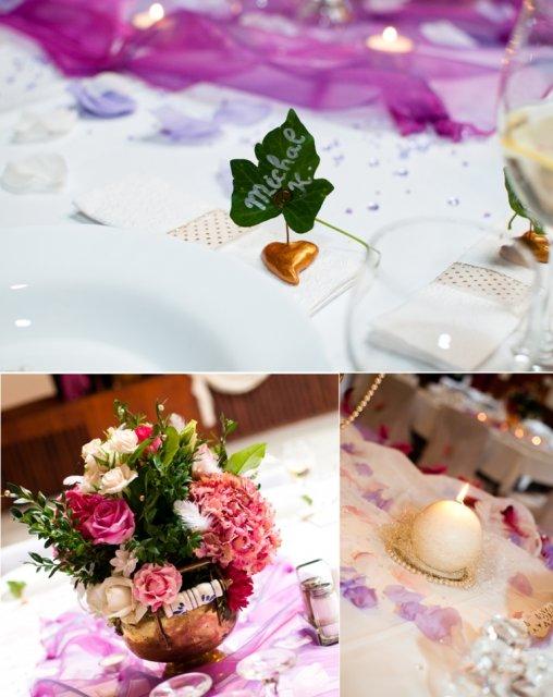 Monka{{_AND_}}Ivko - Menovky, kytičky na stoloch, sviečky...