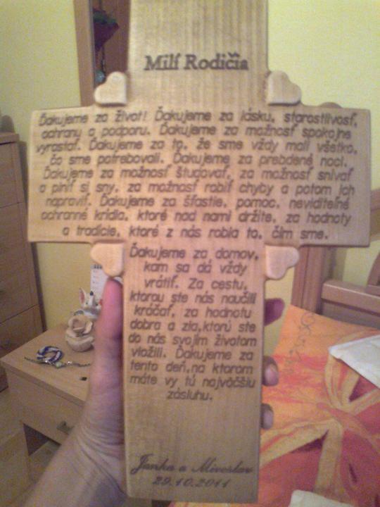 Predstavy a sny 29.10.2011 - Už je doma v 2 vyhotoveniach, nádherná práca