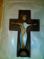 krásny krížik od nastávajúcej švagrinej a švagra