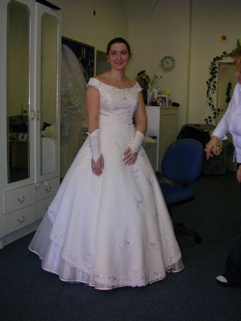 Naša svadba 29.apríl 2006 - tak tieto som si vybrala. Ešte chýba závoj