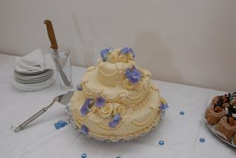 Nejkrásnější dort, ani ve snu by mě nenapadlo, že bude tak krásnej.