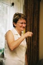 mamka nervóznější než nevěsta:-))