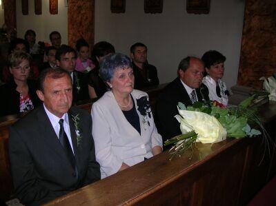Maruška Čanakyová{{_AND_}}Róbert Palka - svadobní rodičia