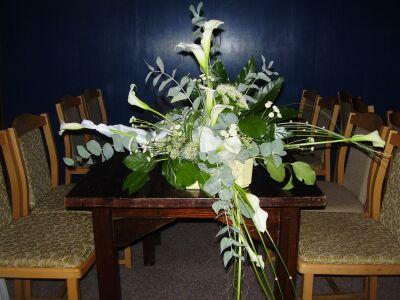 Maruška Čanakyová{{_AND_}}Róbert Palka - ikebana na svadobný stôl