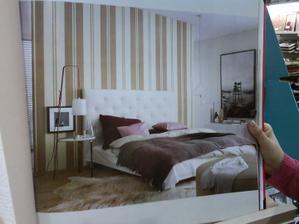 Tak túto tapetu budem mať v spálni.
