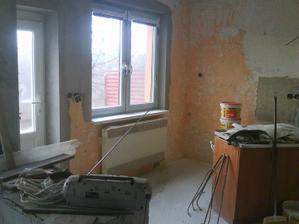 nové okna a dvere.aj kurenie.