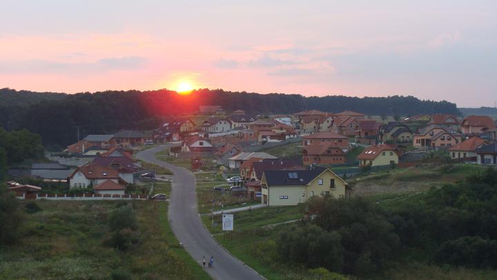 Domcek RS - Západ slnka