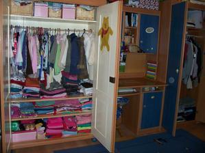 Naše děti mají opravdu dost oblečení...což vyžaduje tolik skříní